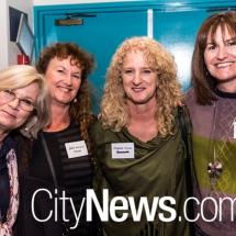 Karen Bareham, Julie Robertson, Virginia Strangio and Barbara English