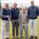 Team Don… from left, Peter Middleton, John Cosgrove, Don Bruce and Wayne Major. Photo by Ana Stuart