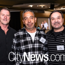 Phil Anderson, Jorge Gatica and Steve Davakis