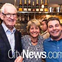 Ron Bell, Jane Hiatt and Paul Buckley