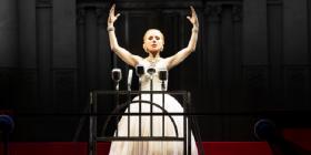 Tina Arena as Evita. Photo courtesy of Opera Australia
