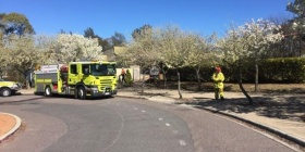 ACT Fire & Rescue have responded to an automatic fire alarm at Fadden Primary School