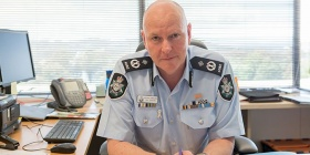 Canberra's new ACT chief police officer, Assistant Commissioner Ray Johnson. Photo: AFP