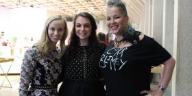 Alice Brown, Georgia Hollgate and Marietta Rudolf