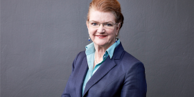 """Lawyer Barbara Campbell... """"Our firm punches above its weight."""""""