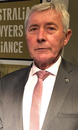 Winner... Canberra lawyer Bernard Collaery.