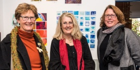 Gerda Lambeck, Debbie Paton and Fiona Brown