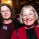 Helen Aitken Kuhnen, with daughter Mio Kuhnen l. Photo by Citynews.