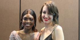 Sarafina Manyang and Annie Brown