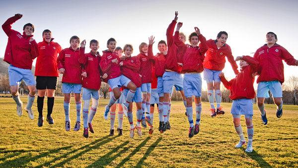 The Woden Valley Soccer Club under-15s