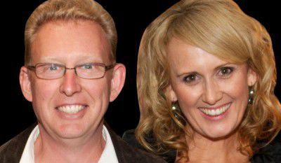Mark Parton and Lisa Ridgley.