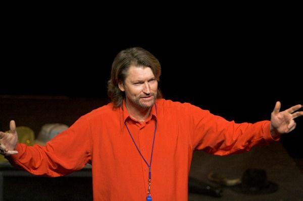 Artistic director Nick Byrne... organising a slap-up international improvisation festival at The Street Theatre.