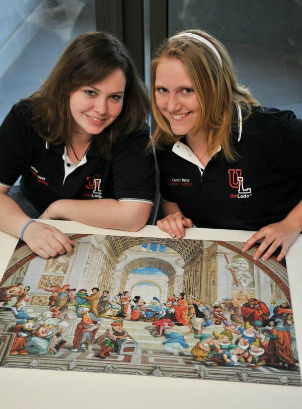 Students in jigsaw marathon   Canberra CityNews