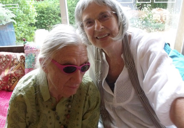 Barbara Blackman, left, and Betty Churcher. Photo by Helen Musa