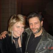 Frog and Melinda Schneider.