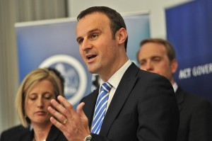 ACT Treasurer Andrew Barr
