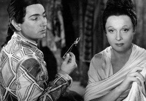 "A scene from the French film ""Les enfants du paradis"""