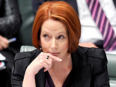 Spill...Prime Minister Julia Gillard