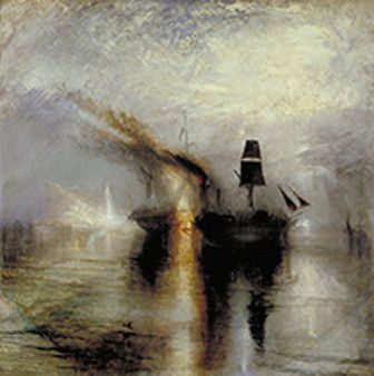J.M.W. Turner, Peace – Burial at sea, exhibited 1842 Photo: © Tate, 2013