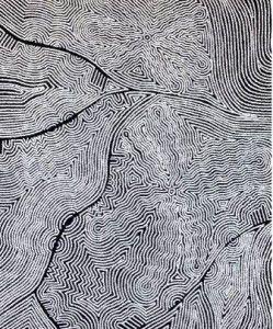 "Mary Robert Nakamarra, ""Bush onion"" 2013, 152x91cm"