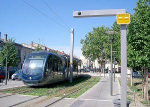 Bordeaux light rail.