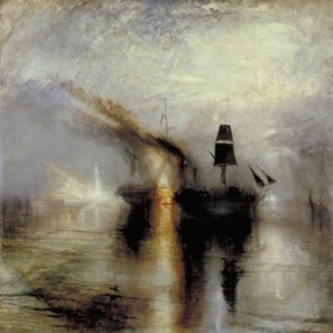 J.M.W. Turner, 'Peace – Burial at sea,' exhibited 1842