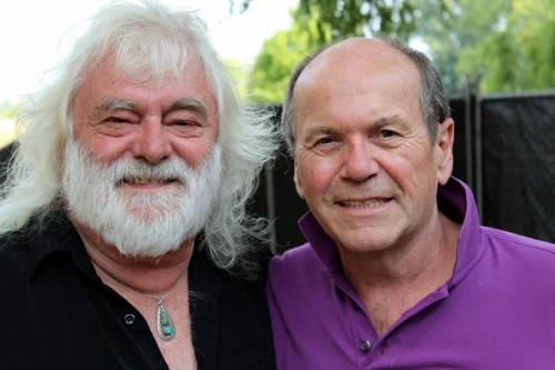 "Brian Cadd, left, and Glenn Shorrock… ""Our voices have a most unique sound together,"" says Cadd. Photo by Paul Taylor"