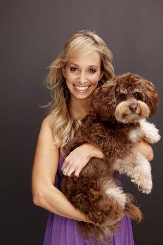 Vet Lisa Chimes with Lucas