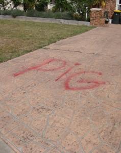 Ngunnawal graffiti 1