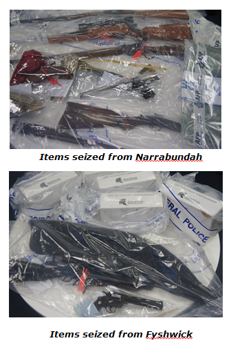 Items seized.