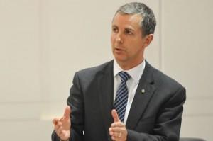 Opposition Leader Jeremy Hanson