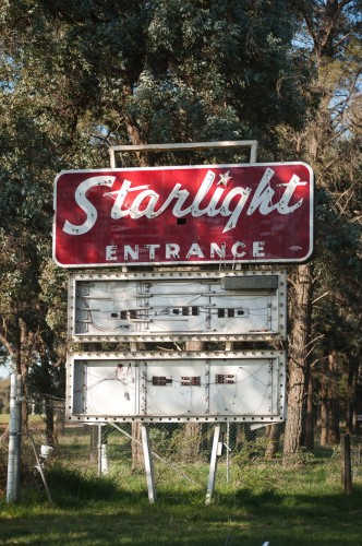 The Starlight sign as it used to be...