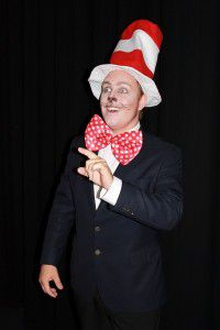 Adam Salter as The Cat in the Hat.