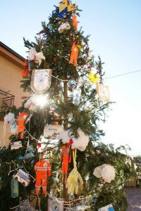 The Ambulance Service Christmas tree.