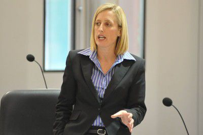Chief Minister Katy Gallagher