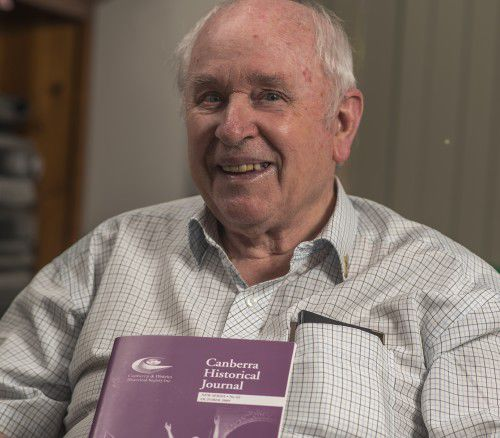 Local historian Brian Maher.