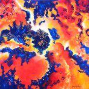 Cosmic Impressions XI - Cadmium Nebula