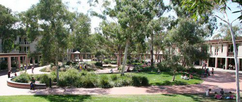 The University of Canberra.
