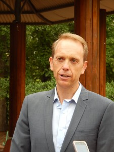 Minister for Environment and Sustainable Development Simon Corbell.