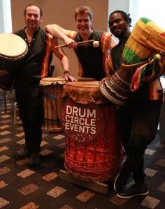 Questacon Druming workshop