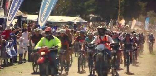 video screenshot of mont race