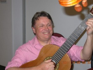 Guitarist Andras Tuske