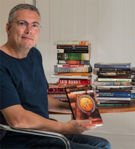 """Author John R Brookes… """"With a book, you're in the mind of somebody who's lived there, so you're getting a certain insight."""" Photo by Gary Schafer"""