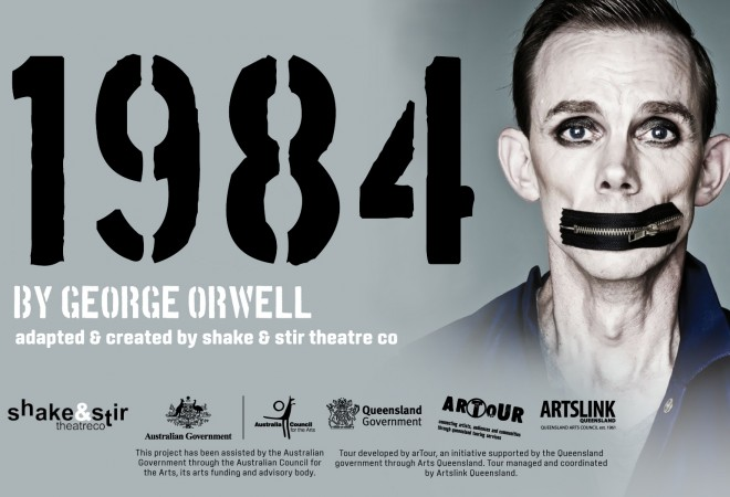 Big Brother IF You Saw Animal Farm A Couple Of Years Back At The Q Wont Want To Miss 1984 By George Orwell