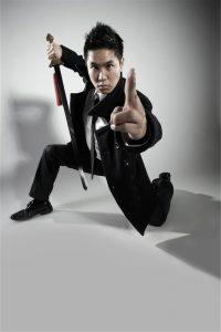 Heartthrob to villain… Canberra-born actor Andy Trieu. Photo by Steven Lloyd