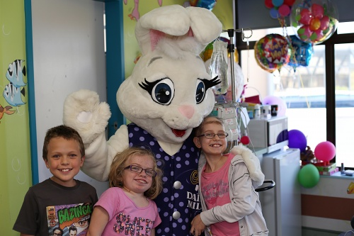 Cadbury Easter Hospital Visit2