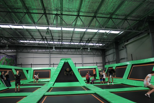 flip out trampolines