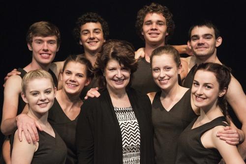 Director Ruth Osborne with dancers, all photos by  Lorna Sim
