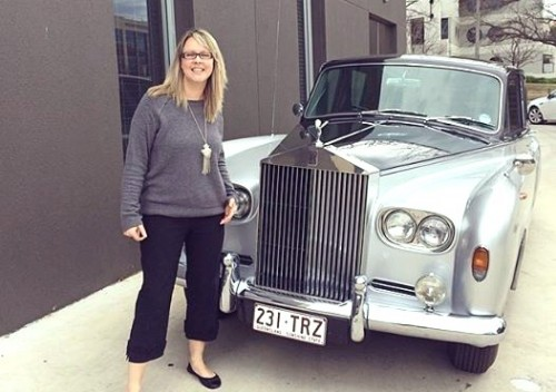 anna and clive's rolls royce