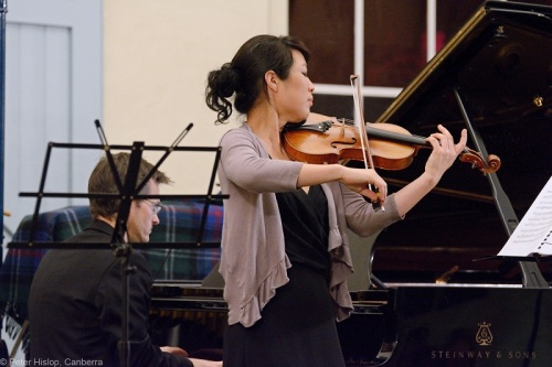 Rebecca Chan accompanied on piano by Timothy Young
